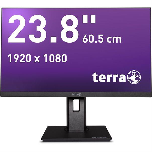TERRA LED 2463W PV black DP/HDMI GREENLINE