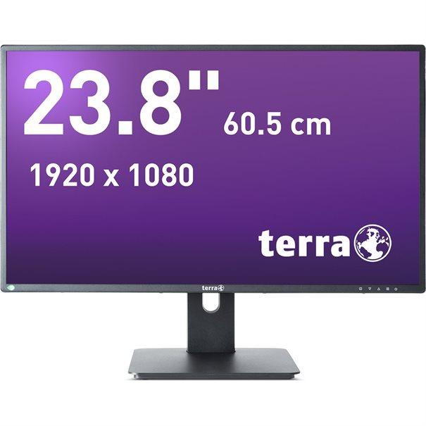 TERRA LED 2456W PV schwarz DP, HDMI
