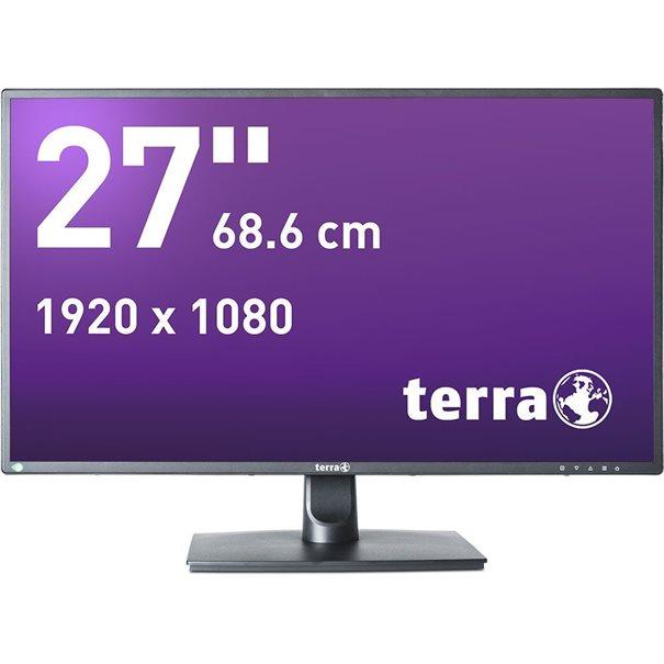TERRA LED 2756W V2 schwarz DVI+HDMI+DP